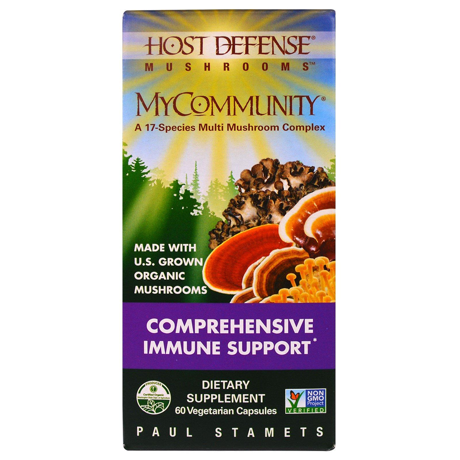 Supplements & Vitamins - Host Defense - Mycommunity, 60 Caps
