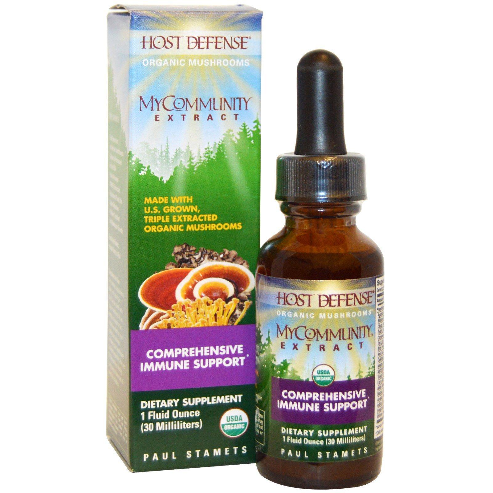 Supplements & Vitamins - Host Defense - Mycommunity Extract, 30ml