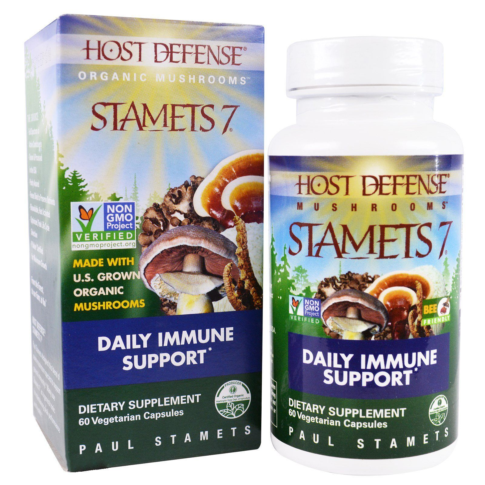 Supplements & Vitamins - Host Defense - Stamets 7, 60 Caps