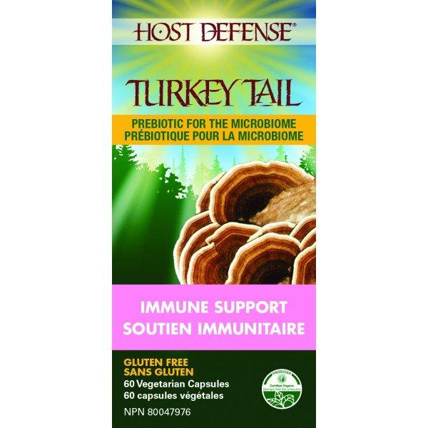 Supplements & Vitamins - Host Defense - Turkey Tail, 60 Caps