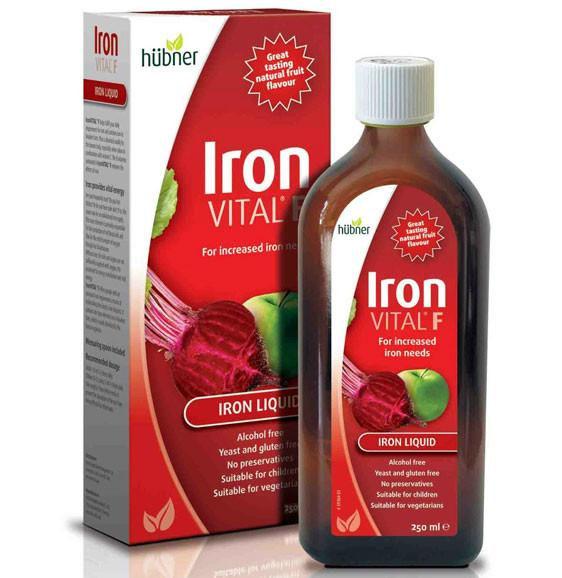 Supplements & Vitamins - Hubner - Iron Vital F - 500ml