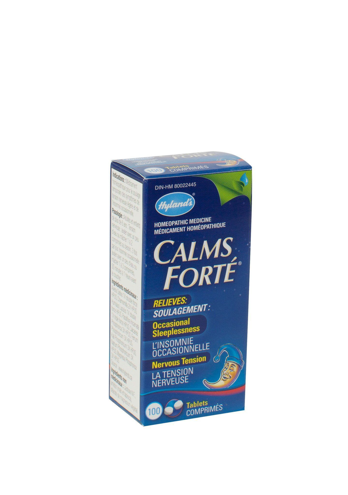 Supplements & Vitamins - Hyland's - Calms Forte, 100 Tabs