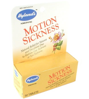 Supplements & Vitamins - Hyland's - Motion Sickness, 50 Tabs