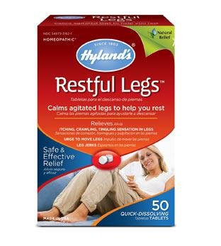 Supplements & Vitamins - Hyland's - Restful Legs - 50 Tabs