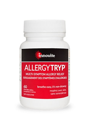 Supplements & Vitamins - Inno-Vite - AllergyTryp, 60 Chews