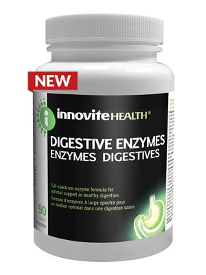 Supplements & Vitamins - Inno-Vite, Digestive Enzymes, 90 Caps