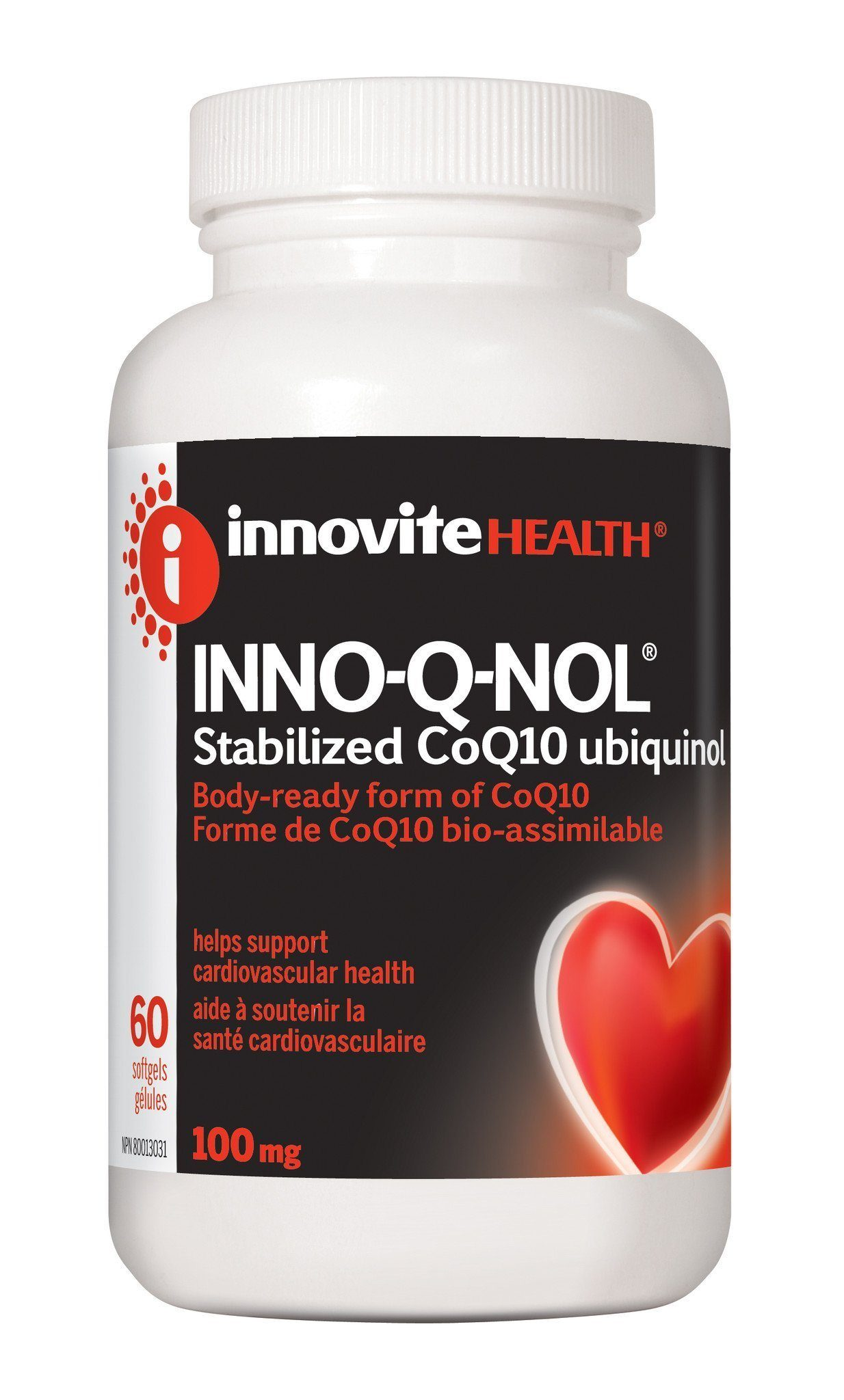 Supplements & Vitamins - Inno-Vite - Inno-Q-Nol 100mg, 60 Softgels