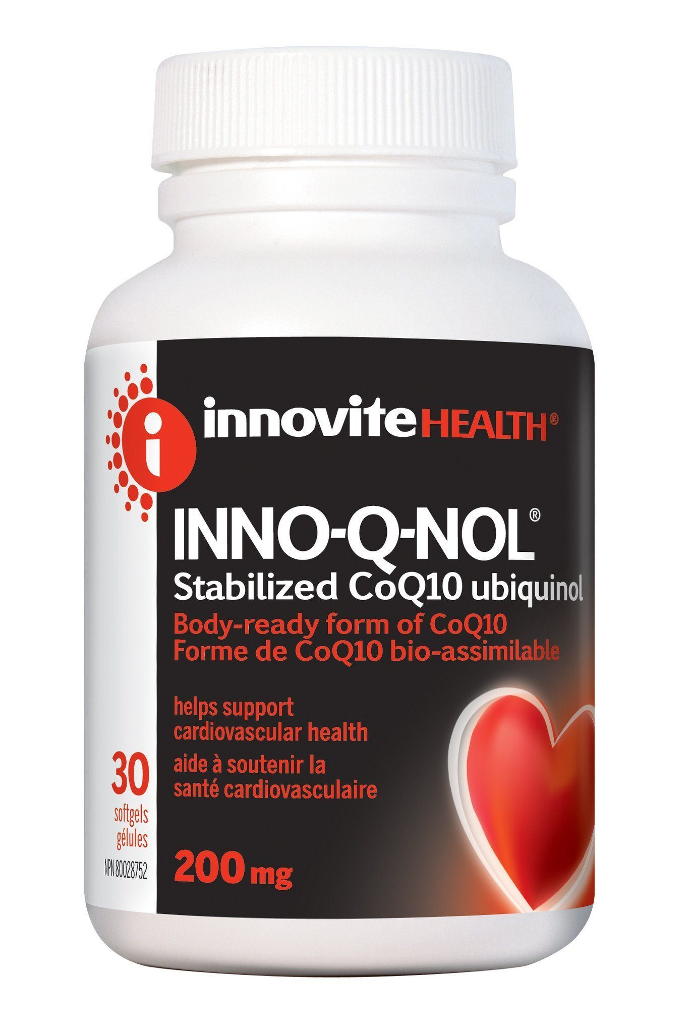 Supplements & Vitamins - Inno-Vite - Inno-Q-Nol 200mg, 30 Softgels