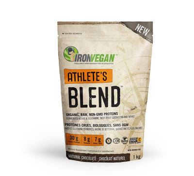 Supplements & Vitamins - Iron Vegan - Athletes Blend Chocolate, 1kg