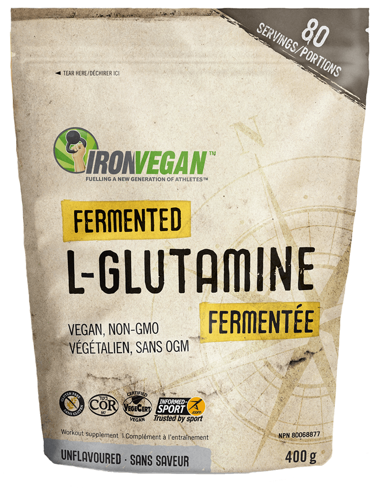 Supplements & Vitamins - Iron Vegan - Fermented L-glutamine - 400G