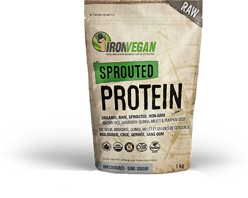 Supplements & Vitamins - Iron Vegan - Sprouted Protein Natural , 1kg