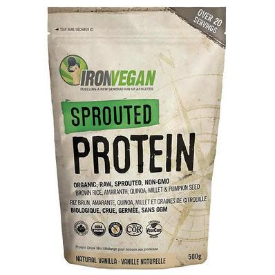 Supplements & Vitamins - Iron Vegan - Sprouted Protein Vanilla, 1kg