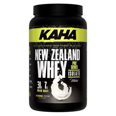 Supplements & Vitamins - Kaha - New Zealand Whey Isolate - Unflavoured - 840g