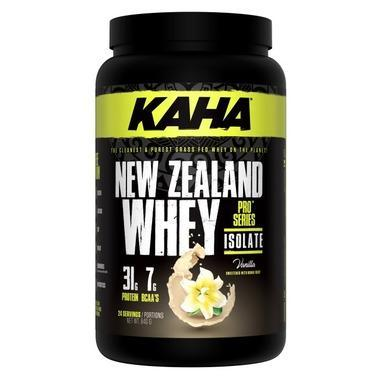 Supplements & Vitamins - Kaha - New Zealand Whey Isolate - Vanilla - 840g