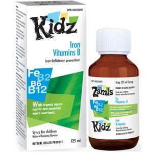 Supplements & Vitamins - Kidz - Children's Iron, 125mL