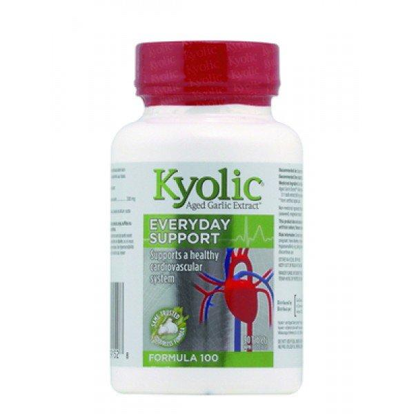 Supplements & Vitamins - Kyolic - Formula 100, 90CAPS
