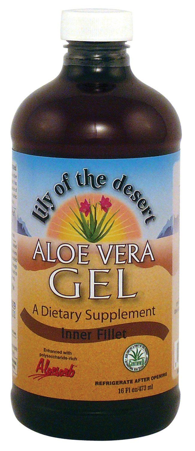 Supplements & Vitamins - Lily Of The Desert - Inner Fillet Aloe Vera Gel, 473ml