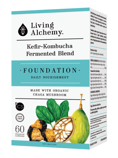 Supplements & Vitamins - Living Alchemy - Foundation, 60 Capsules