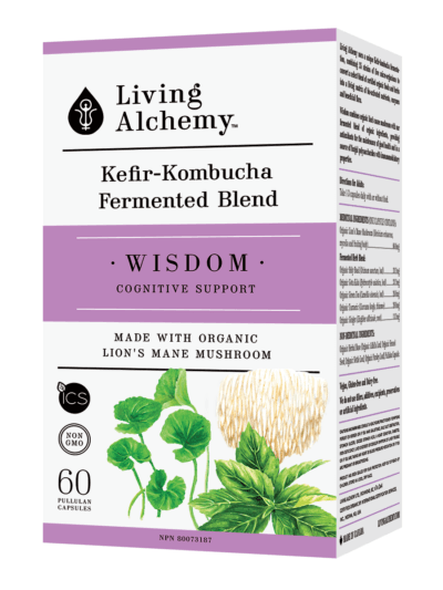 Supplements & Vitamins - Living Alchemy - Wisdom, 60 Capsules