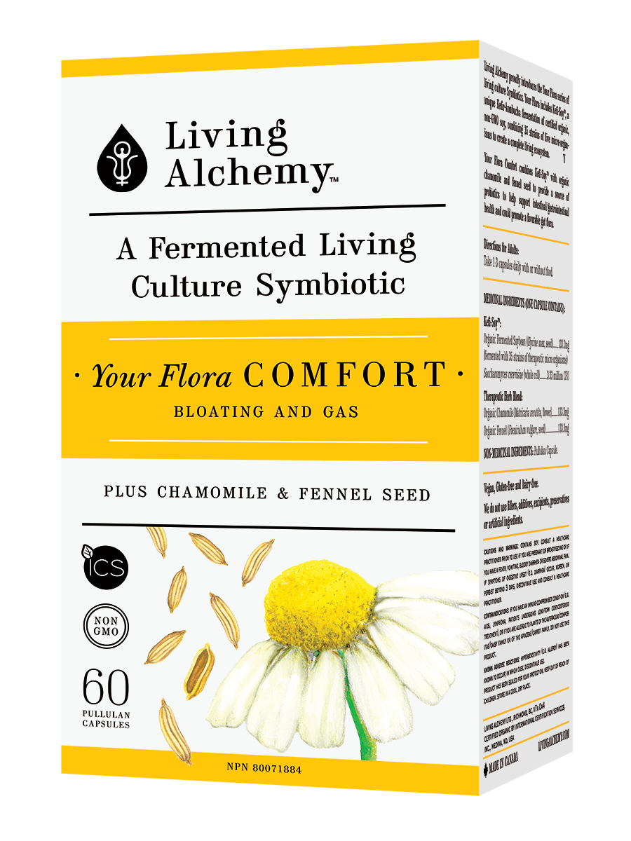 Supplements & Vitamins - Living Alchemy - Your Flora Comfort,  60 Caps