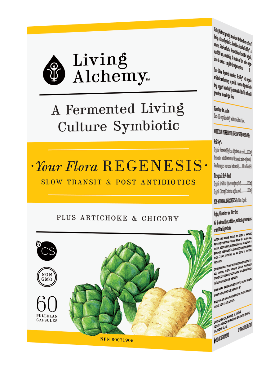 Supplements & Vitamins - Living Alchemy - Your Flora Regenesis, 60 Caps