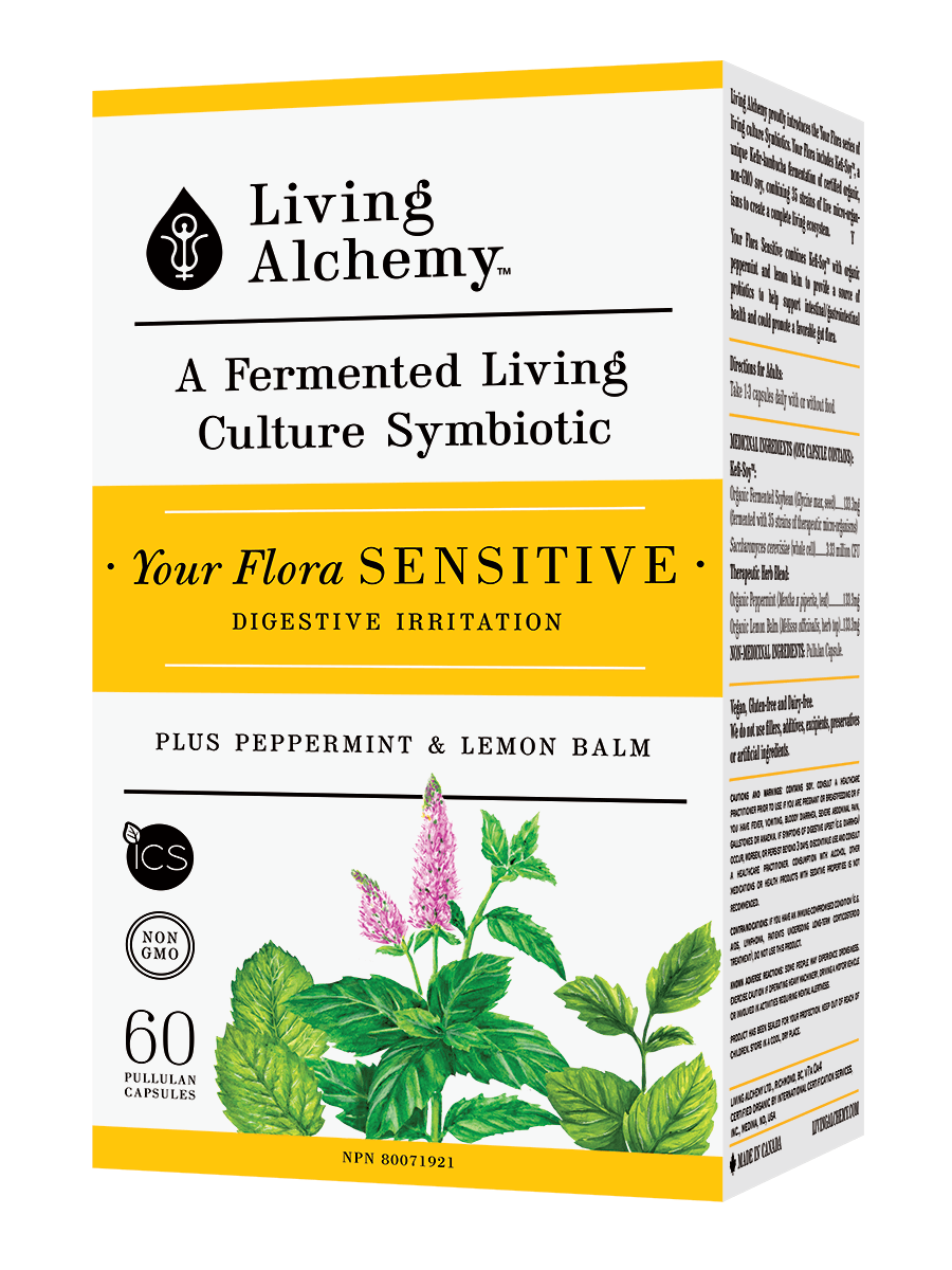 Supplements & Vitamins - Living Alchemy - Your Flora Sensitive, 60 Caps