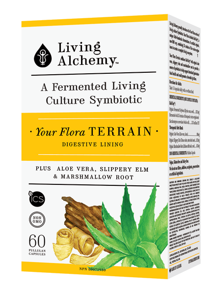 Supplements & Vitamins - Living Alchemy -  Your Flora Terrain, 60 Caps
