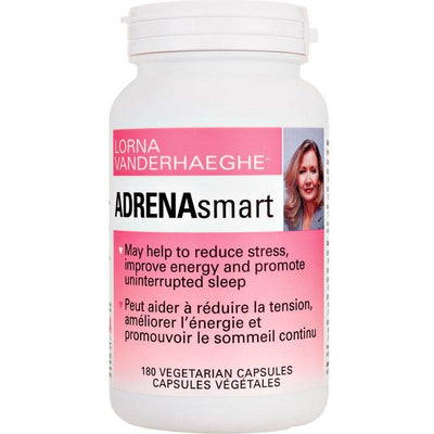 Supplements & Vitamins - Lorna Vanderhaeghe - AdrenaSmart, 180 Caps