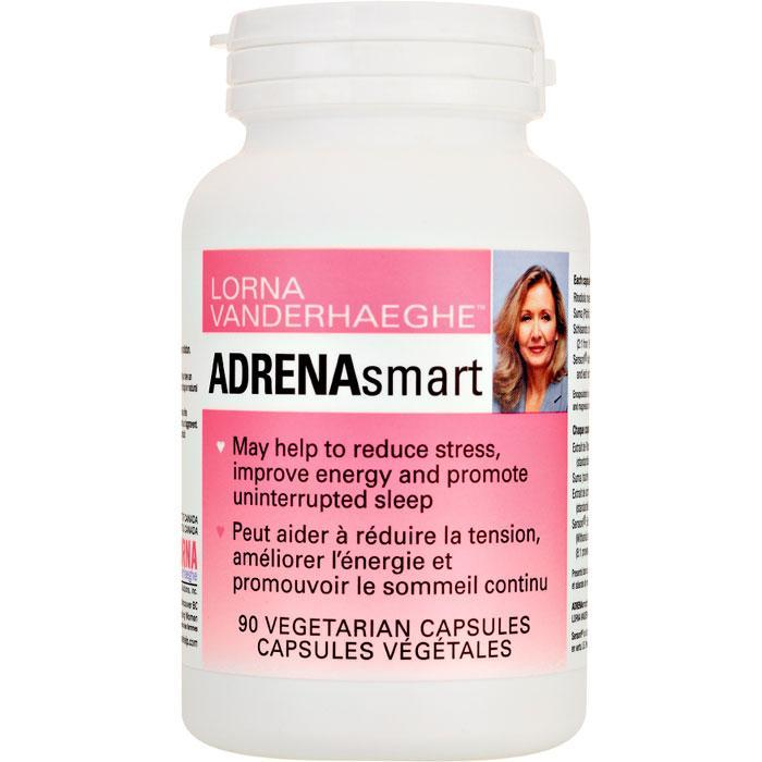 Supplements & Vitamins - Lorna Vanderhaeghe - AdrenaSmart, 90 Caps