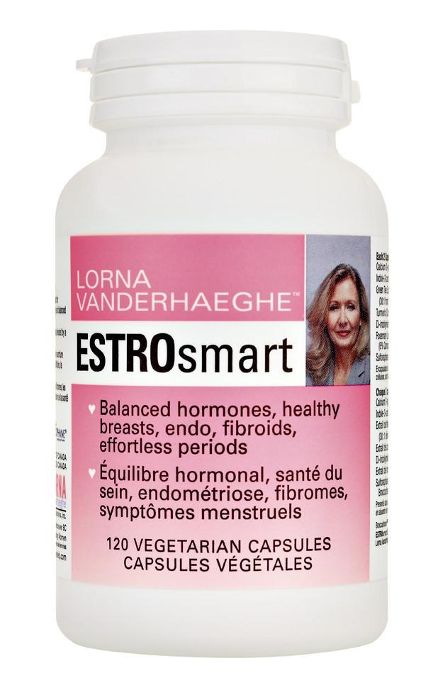 Supplements & Vitamins - Lorna Vanderhaeghe - Estrosmart, 120 Caps