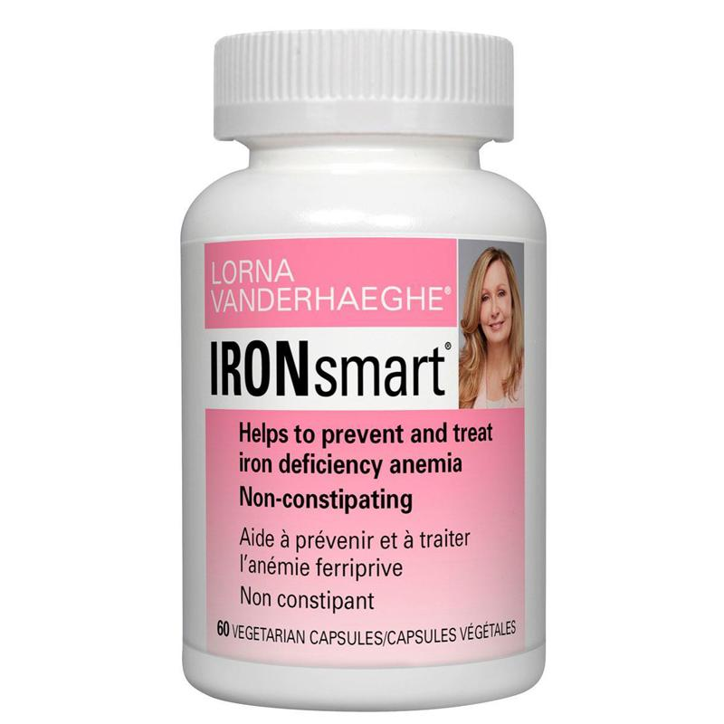 Supplements & Vitamins - Lorna Vanderhaeghe - IRONsmart, 60 Vcaps