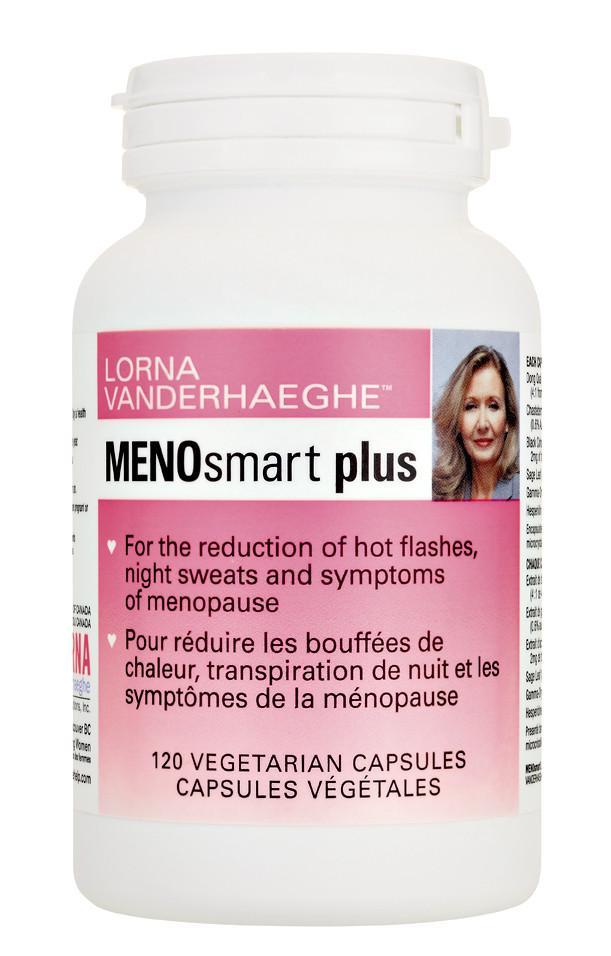 Supplements & Vitamins - Lorna Vanderhaeghe - MENOsmart Plus, 120 Caps