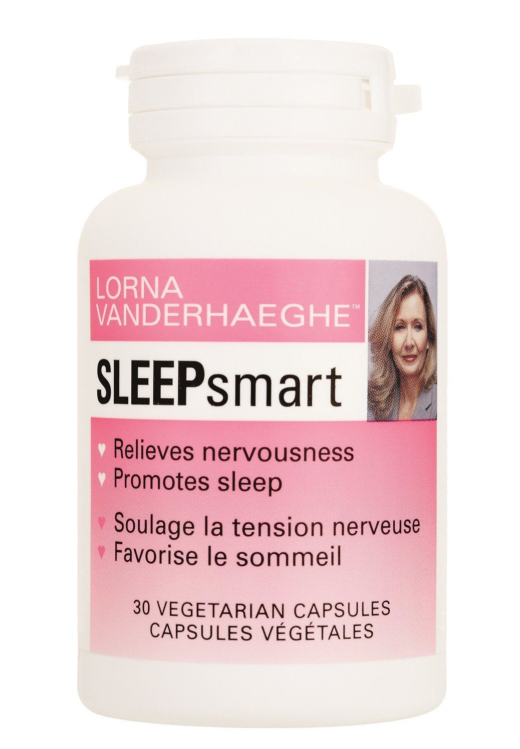 Supplements & Vitamins - Lorna Vanderhaeghe - SLEEPsmart, 30 Vegetarian Capsules