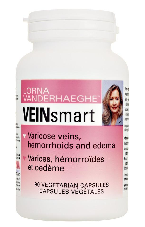 Supplements & Vitamins - Lorna Vanderhaeghe - VEINsmart, 90 Caps