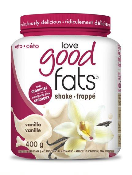 Supplements & Vitamins - Love Good Fats - Vanilla Shake, 400g