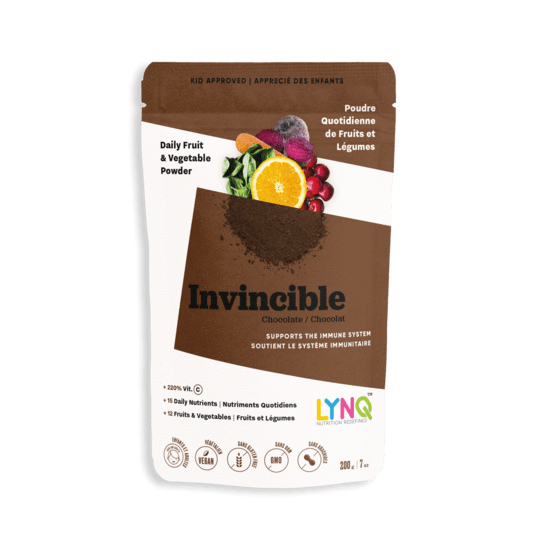 Supplements & Vitamins - LYNQ - Invincible Blend - Chocolate, 200g