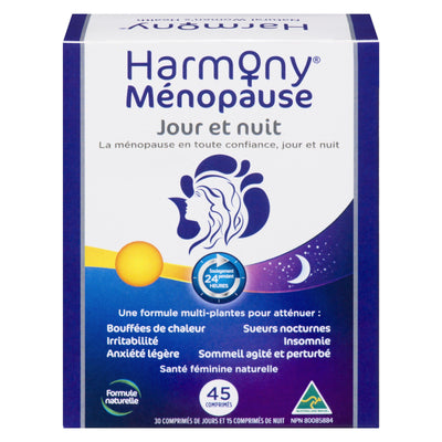 Supplements & Vitamins - Martin & Pleasance - Harmony Menopause Day & Night, 45 Caps