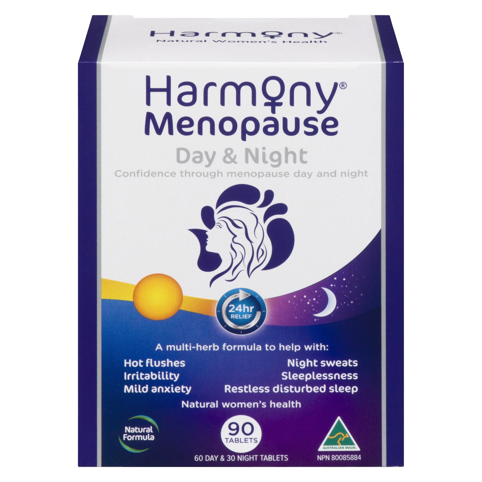 Supplements & Vitamins - Martin & Pleasance - Harmony Menopause Day & Night, 90 Caps
