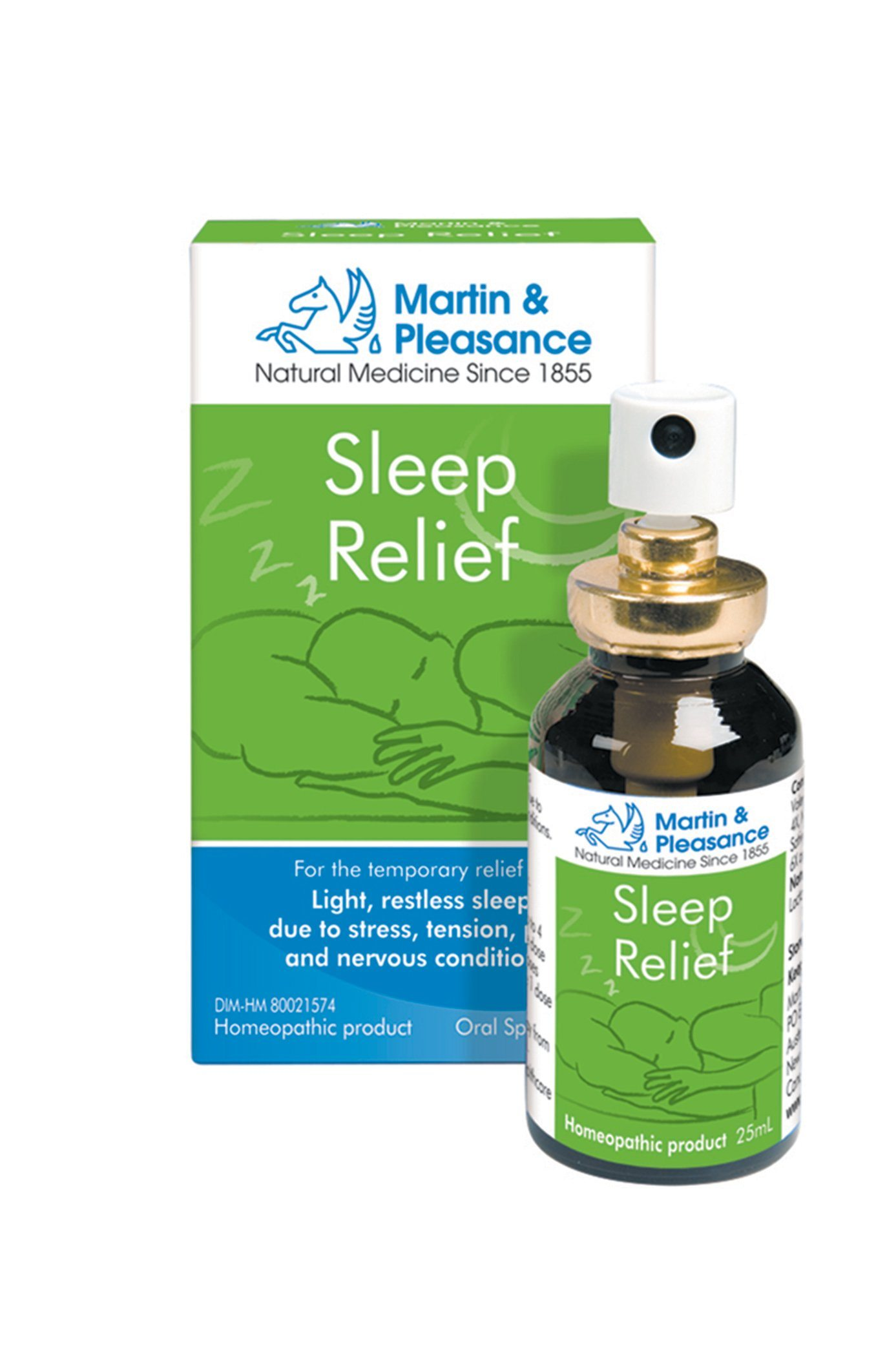 Supplements & Vitamins - Martin & Pleasance - HCR - Sleep Spray, 25mL