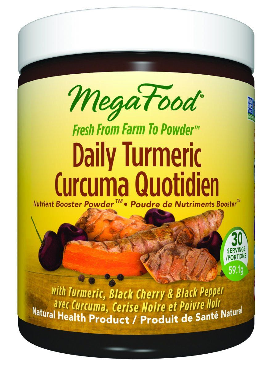 Supplements & Vitamins - Mega Food - Daily Turmeric, 59.1g