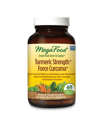 Supplements & Vitamins - Mega Food - Turmeric Strength™, 60 Tablets