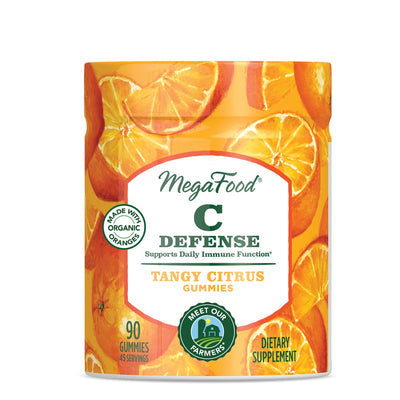 Supplements & Vitamins - Mega Food Vitamin C Defense Gummies, 90 Count