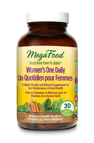 Supplements & Vitamins - Mega Food - Women's One Daily, 30 Tablets