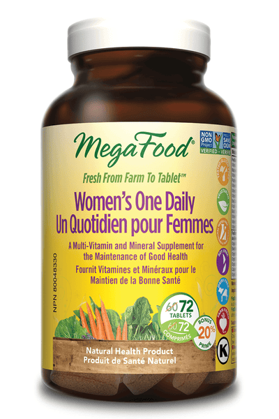 Supplements & Vitamins - Mega Food - Women's One Daily, 72 Tablets