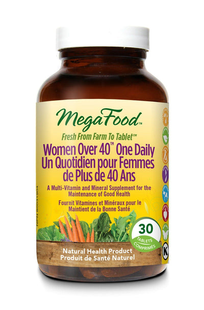 Supplements & Vitamins - Mega Food - Women's Over 40 One Daily, 30 Tablets
