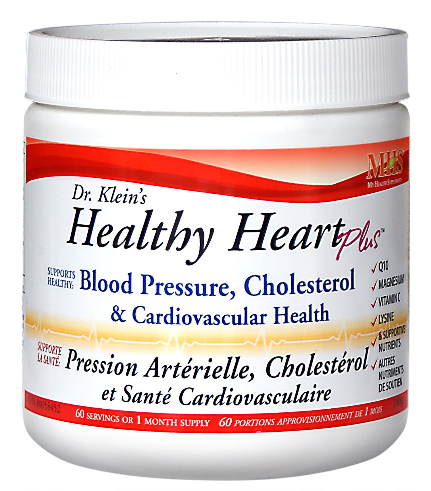 Supplements & Vitamins - MHS - Healthy Heart Plus, 188g