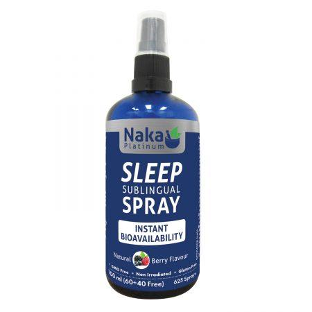Supplements & Vitamins - Naka Platinum - Instant Sleep Spray, 100ml