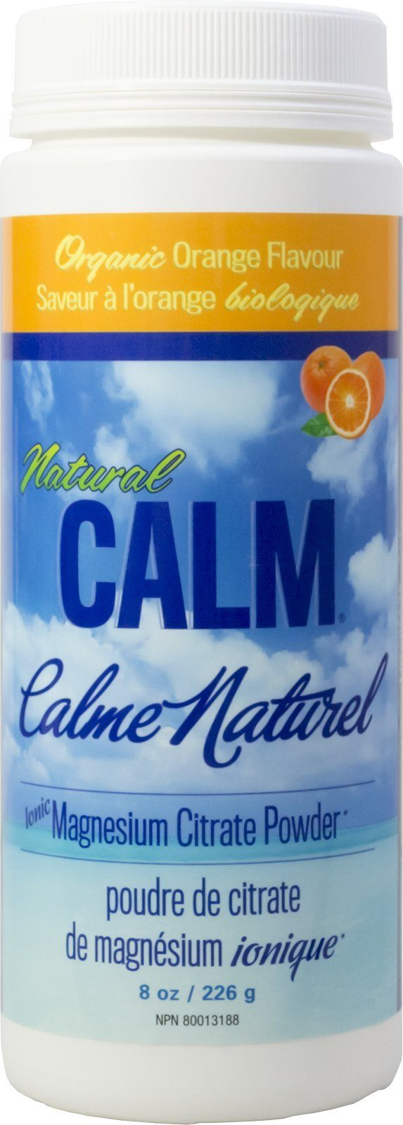 Supplements & Vitamins - Natural Calm - Calm Magnesium Orange, 226g