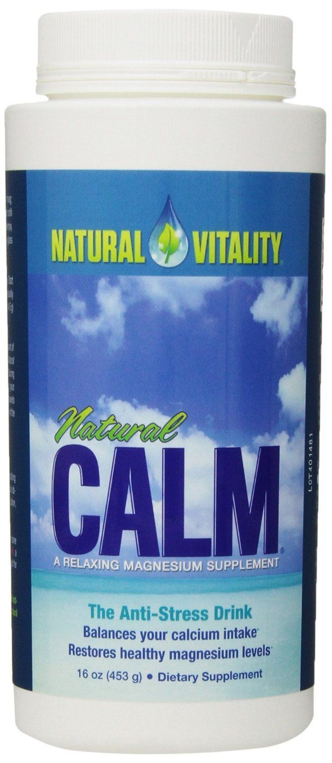 Supplements & Vitamins - Natural Calm - Calm Magnesium Original, 454g