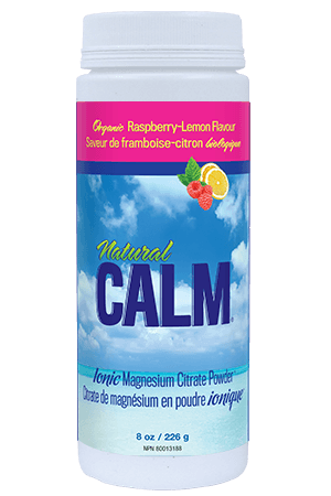 Supplements & Vitamins - Natural Calm - Calm Magnesium Raspberry Lemon, 226g